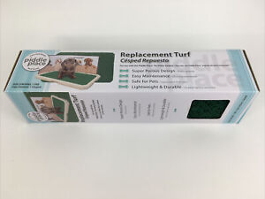 Piddle Place Dog Potty Replacement Turf Pad Green New in Box NIB