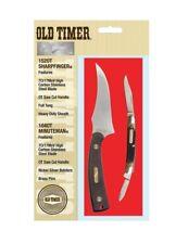 Schrade Pocket Knife 108OT and 152OT Hunter in tin case