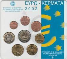Griekenland BU set 2002 / 1 cent - 2 euro KMS