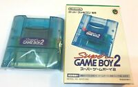 Super Game Boy 2 Nintendo Super Famicom SFC SNES with Box From Japan 101