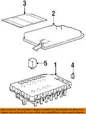 PORSCHE OEM 1996 911 3.6L-H6 Fuse Relay-Information Label 99361020902