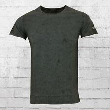 Rusty Neal Vintage T-Shirt Männer grau schwarz