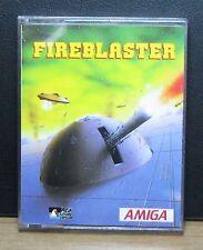 FIREBLASTER - PRISM LEISURE - AMIGA - NUOVO NEW OLD STOCK SEALED - 1988 Vintage