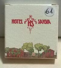 SAPONETTA HOTEL SAVOIA 4 STELLE BOLOGNA - ROTONDA  g.15 CONF.IN SCATOLA  - N. 61