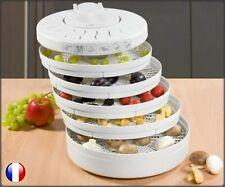 Déshydrateur alimentaire fruits légumes 5 étages CLATRONIC DR 2751