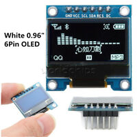 "6Pin 0.96"" White 12864 SPI&IIC I2C OLED Display Module For Arduino Raspberry Pi"