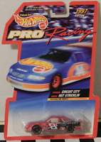 Hot Wheels 1997 Pro Racing Circuit City Hut Stricklin Eagle Goodyear #1