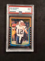 2000 Bowman Tom Brady PSA 9 #236 Rookie Card GOAT Patriots Buc's