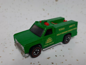 Hot Wheels redline Emergency truck  FOREST SERVICE  mint