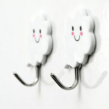 Wall Cloud Smiling Strong Self Adhesive Bathroom Sticky Hooks Hanger Pothook