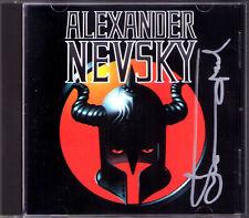 Yuri TEMIRKANOV Signed PROKOFIEV Alexander Nevsky Complete Score GOROHOVSKAYA CD