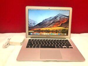"13"" Apple MacBook Air i5 2.7ghz TURBO BOOST 128GB SSD OSx-2017 - 3 YEAR WARRANTY"