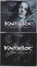 KAMELOT: SACRIMONY & FALLING LIKE THE FAHRENHEIT 2 MAXI-CD NEW RARE