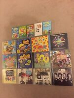 Giant Job Lot Bundle Of 12 CDs And 5 Cassettes