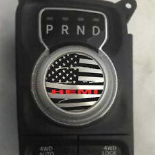 Dodge Ram HEMI Shift Knob Decal Sticker Graphic Vinyl Gear Drive Park American