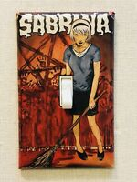 Sabrina the Teenage Witch Wall Light Switch Plate - Archie Horror Comics