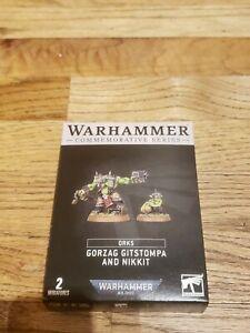 Warhammer Commemorative Series Gorzag Gitstompa & Nikkit