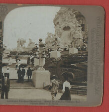 LOUISIANA PURCHASE EXPOSITION  1904- STAIRWAY TO FESTIVAL HALL -STEREOVIEW