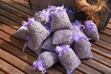 10 Organza Lavendelsäckchen Duftkissen mit BIO Lavendel - Lavendelblüten Quertee