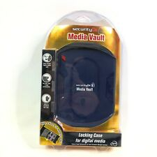 Media Vault New in Original Package Locking Portable Case for Digital Media