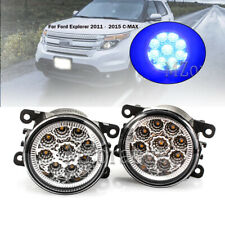 9 LED Fog Lamps Driving Light For NISSAN Pathfinder R51 2005-2014 Blue H11 Bulbs