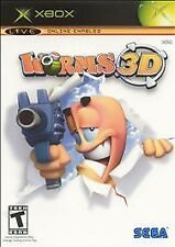 Microsoft Xbox Worms 3D *MINT*COMPLETE*