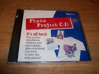 Hewlett Packard Photo Project CD ROM Software And User's Guide WIN 95 NEW