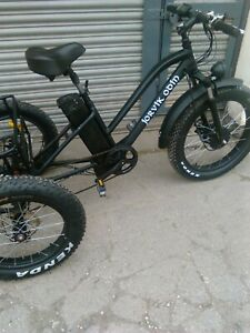 Electric trike.fatwheels.needs charger and maybe battery.batgain £595.00
