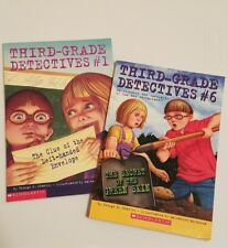 Third Grade Detectives!  THE SECRET OF THE GREEN SKIN & THE CLUE OF THE LEFT...