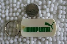 Puma Athletic Shoes White & Green Keychain Key Ring #25462