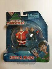 Arthur Christmas Santa & Bryony Collectible Toy Figures