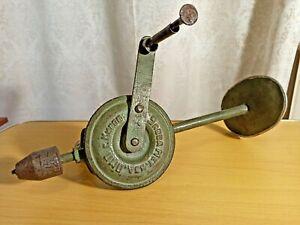 Vintage Soviet hand drill. USSR. Kirov city