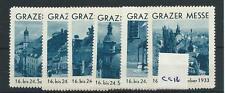 wbc. - CINDERELLA/POSTER - CG12 - EUROPE - GRAZER MESSE - 1933