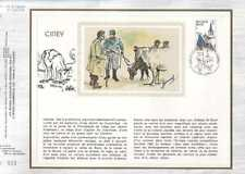 Feuillet CEF Belgique n°256  Ciney  cachet 20-10-79  Ciney