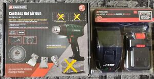 Parkside 20v Cordless Heat Hot Air Gun With Battery And Charger New Boxed Unused