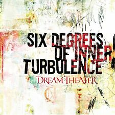 DREAM THEATER  -  Six Degrees of Inner Turbolence  -  2x CD usato/used