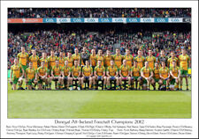 Donegal All-Ireland Football Champions 2012: GAA Print