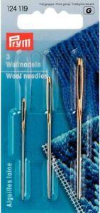 Prym Tapestry Needles, Sizes 13, 14, 18