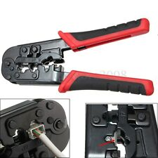 Professional Network Pliers Cable Crimper Cutter Tool For CAT5e/6 RJ45/12/11 22