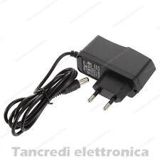 Alimentatore 9V 1A DC switching modem videosorveglianza telecamera power supply