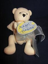 "North American Bear #1567 Angel Babies 5"" ~ Blue Ribbon ~ NWT NEW with TAGS"