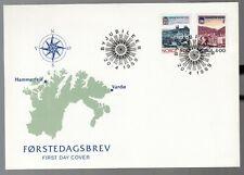 Norway 1989 FDC Town Bicentenaries