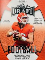 2021 Leaf Draft Football ***YOU PICK*** XRC & All American Rookies