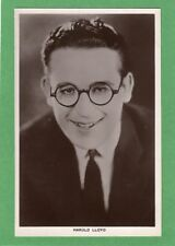 Harold Lloyd Actor Film Star RP pc unused Picturegoer 32a Ref H3