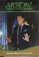 Arrow Season 1 Gold Parallel Base Card #90 Malcolm Merlyn: The Dark Archer