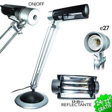FLEXO BASE ARQUITECTO E27 LAMPARA DE MESA FLEXIBLE ESCRITORIO DESPACHO DESK LAMP