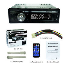 LC6219 Car AM/FM/USB/SD/MP3 Player With Bleutooth Stereo Radio Receiver Aux Kits