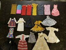 Vintage 1960' & 70's Barbie & Skipper Dress Lot,  19 Total
