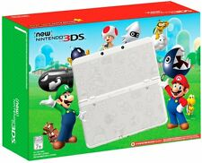 'New' Nintendo 3ds Super Mario White System Limited Edition Handheld Console