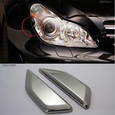 BRENTHON Car Headlamp Detail Tip Emblem for Mercedes BENZ CLS AMG 2006-2010